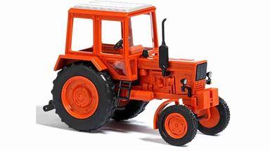 BUSCH 51300 — Трактор Беларусь МТЗ-80 оранжевый, 1:87, 1974, СССР