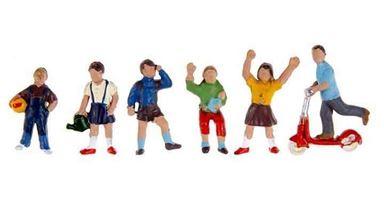 NOCH 15815 — Играющие дети (6 фигур), 1:87