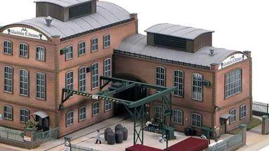 PIKO 61117 — Вспомогательное здание стекольного завода «E.Strauss», 1:87