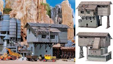 FALLER 130961 — Старое карьерное здание загрузки гравия, 1:87, 1921—1945