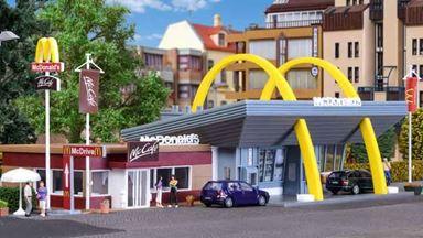 VOLLMER 43635 — МакДоналдс (ресторан и кафе), 1:87