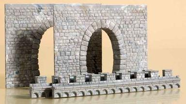 AUHAGEN 41586 — Туннельный однопутный портал (2 шт.), 1:87