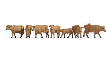 NOCH 15727 — Коровы коричневые, 1:87