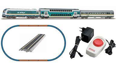 PIKO 57139 — Аналоговый стартовый набор «Пассажирский поезд «Alex», H0, VI