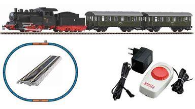 PIKO 97933 — Аналоговый стартовый набор «Пассажирский поезд с паровозом», H0, PKP