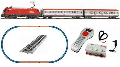 PIKO 59026 — Цифровой стартовый набор «Пассажирский поезд с электровозом Taurus», H0, V, ÖBB