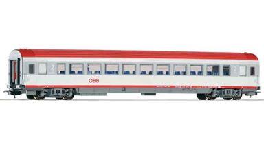 PIKO 57613 — Пассажирский вагон «IC» 2 кл. Bmz, H0, V, ÖBB
