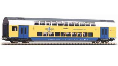 PIKO 58809 — Двухэтажный пассажирский вагон «Metronom» 2 кл., H0, VI, Metronom