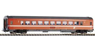 PIKO 58660 — Пассажирский вагон 2 кл. Bmz «Eurofima», H0, IV, ÖBB