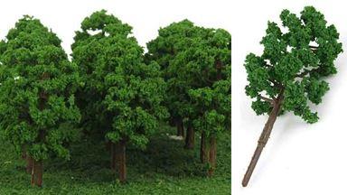 CMOD D150x20 — Лиственные деревья ~75мм (пластик, 20 шт.), 1:72—1:200
