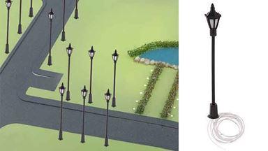 CMOD S100 — Парковый фонарь (7 см., светодиодный, белый свет), 1:72—1:100