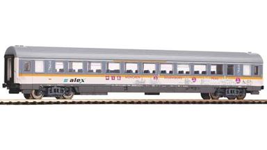 PIKO 58676 — Пассажирский вагон 1 и 2 кл. «Alex», H0, VI, Alex
