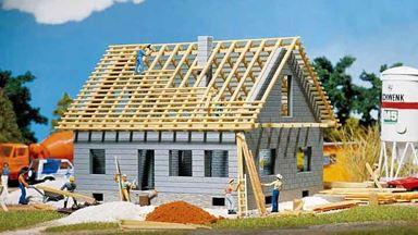 FALLER 130303 — Строящийся частный дом, 1:87, 1946—1977