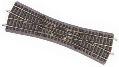 PIKO 55424 — Двойная перекрестная стрелка DKW на призме, H0