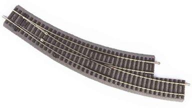 PIKO 55427 — Стрелка радиусная левая BWL R3 на призме, H0