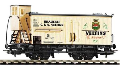 PIKO 54614 — Вагон для транспортировки пива «Veltins», H0, III, DB