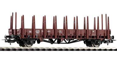 PIKO 54460 — Платформа с боковыми стойками Rmm33, H0, III, DB