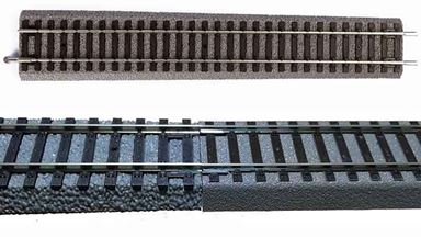 PIKO 55433 — Рельс-переходник на призме ~231мм PIKO > ROCO GeoLine, H0