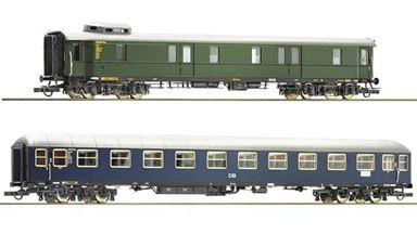 ROCO 74098 — Вагоны A4um и BR 37, H0, III, DB