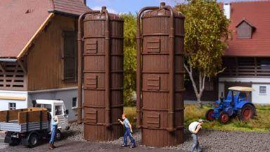VOLLMER 43743 — Силосные башни для зерна 2 штуки, 1:87