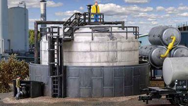 VOLLMER 45530 — Резервуар для хранилища дизельного топлива, 1:87