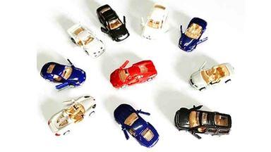 EMOD C8704 — Спортивные автомобили (16 шт.) набор для сборки, 1:87