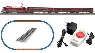 PIKO 57178 — Аналоговый стартовый набор «Пассажирский поезд с электровозом Railjet», H0, VI, ÖBB