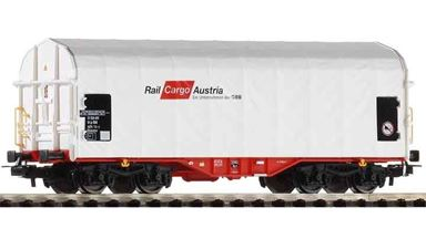 PIKO 54589 — Вагон крытый брезентом Shimmns «Rail Cargo Austria», H0, VI, ÖBB