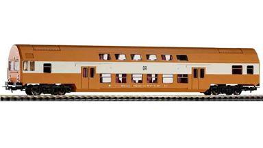 PIKO 57623 — Двухэтажный пассажирский вагон управления DBmqee, H0, IV, DR