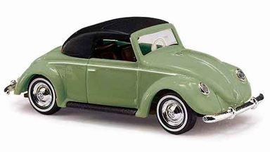 BUSCH 46733 — Кабриолет закрытый Volkswagen® Hebmüller зеленый, 1:87, 1949–1953