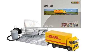 FALLER 161607 — Стартовый набор «Грузовик MAN® «DHL», 1:87, 1986–2006