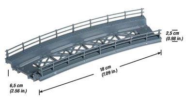 NOCH 21350 — Мост поворотный длина 180мм, радиус 360мм, 1:87
