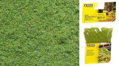 NOCH 07331 — Трава светло-зелёная (флокаж  ~3мм, пена 20 г), 1:10—1:1000