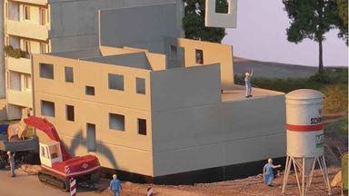 PIKO 61147 — Строительная площадка панельного дома, 1:87