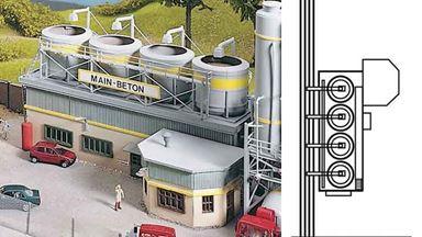 PIKO 61130 — Бетоносмесительная установка на фабрике «MAIN-BETON», 1:87