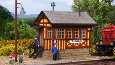 VOLLMER 45730 — Пост управления «Riedlingen», диспетчерский пункт, 1:87