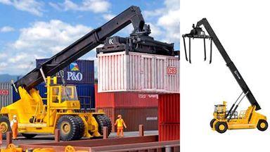 KIBRI 11752 — Ричстакер KALMAR® ContChamp™  DRD 450-70 C 5XS — погрузчик контейнеров, 1:87