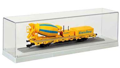KIBRI 12063 — Бокс для моделей подвижного состава (245×60×65мм), 1:87