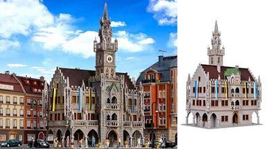 VOLLMER 43760 — Городская ратуша в готическом стиле, 1:87