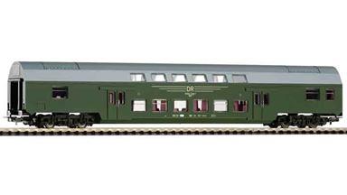 PIKO 57684 — Двухэтажный пассажирский вагон Dbmue, H0, IV, DR