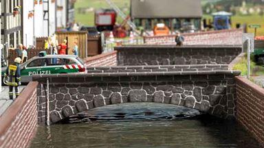 BUSCH 7019 — Каменный мост, 1:72—1:160