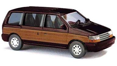 BUSCH 44624 — Автомобиль Plymouth® Voyager «Woody» (коричневый), 1:87
