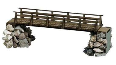 BUSCH 1497 — Деревянный мост, 1:87