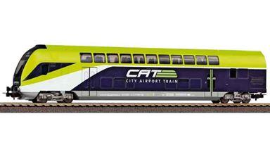 PIKO 58810 — Двухэтажный вагон управления «CAT», H0, VI, ÖBB