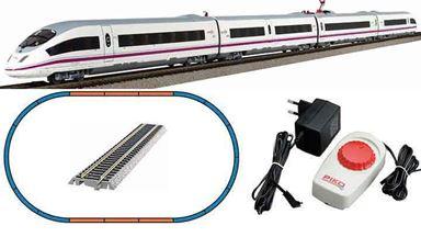 PIKO 97930 — Аналоговый стартовый набор «Скоростной поезд «AVE 103», H0, V, RENFE