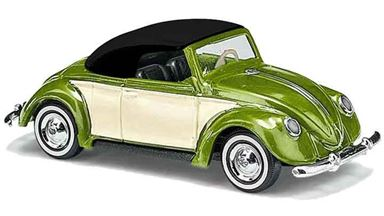 BUSCH 46735 — Кабриолет закрытый Volkswagen® Hebmüller (зелёный металлик), H0