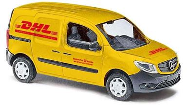 BUSCH 50615 — Автомобиль Mercedes-Benz® Citan службы доставки «DHL», 1:87