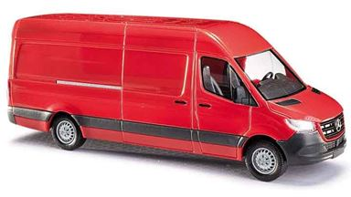BUSCH 52601 — Автомобиль Mercedes-Benz® Sprinter (красный), 1:87