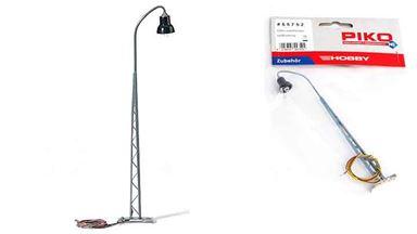 PIKO 55752 — Железнодорожный фонарь ~140 мм (свет), 1:72—1:100