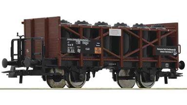 ROCO 76307 — Вагон с резервуарами для перевозки кислоты type Zik, H0, IV, DR
